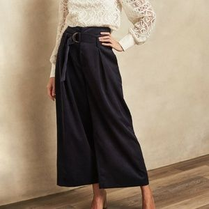3/$60 1.State Belted Wide Leg Corduroy Pants